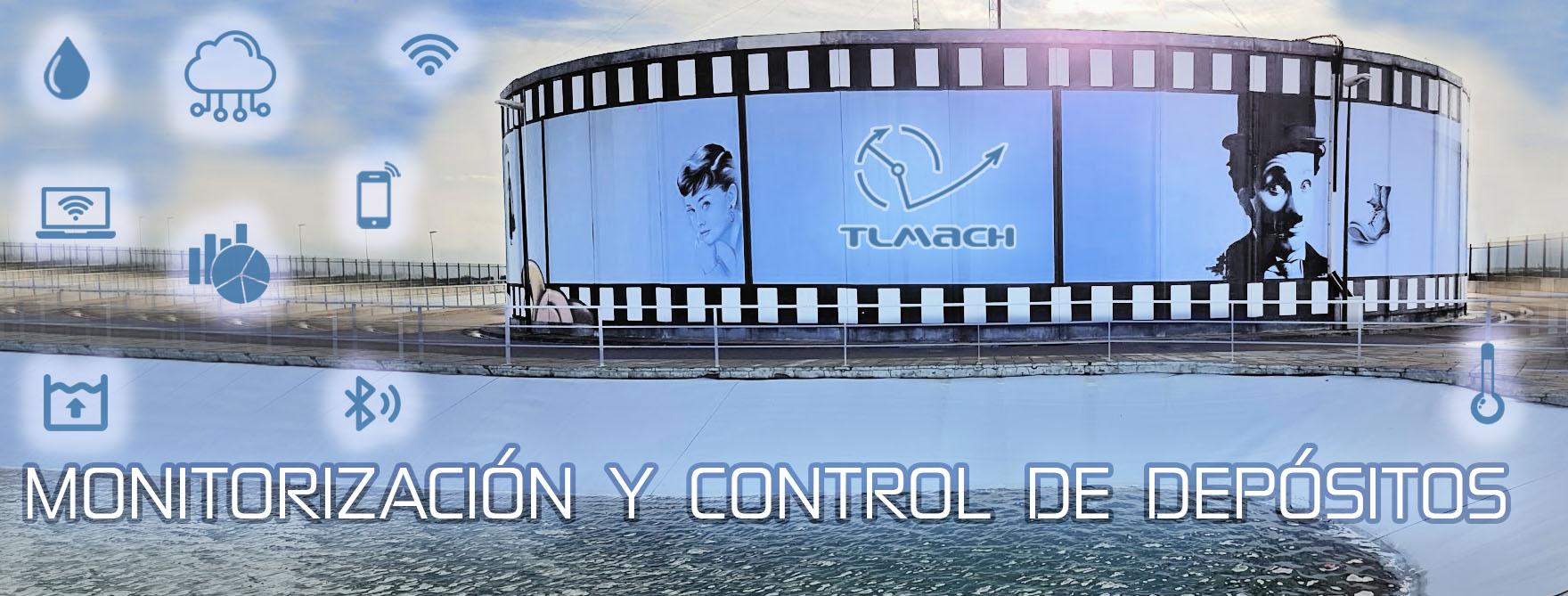 Monitorización y control de depósitos y silos