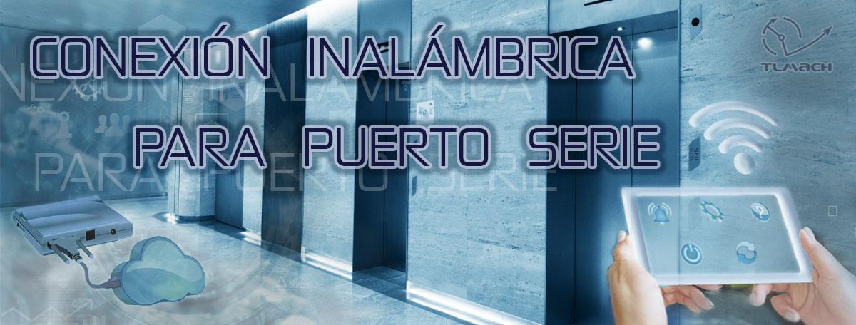 Convertidor inalámbrico para conexiones por Puerto Serie
