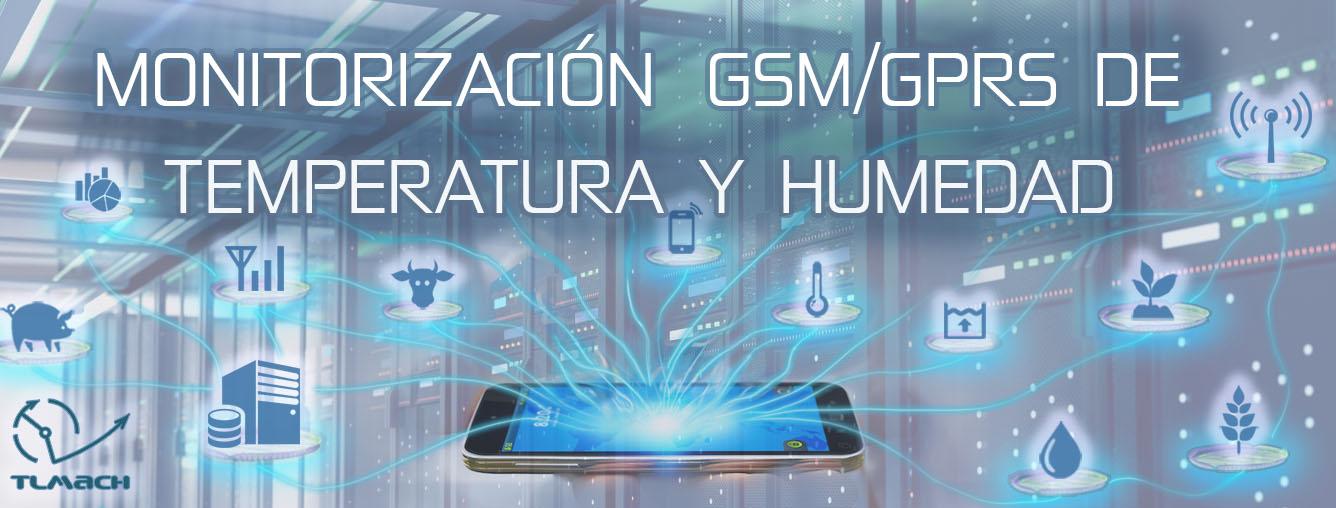 Monitorización GSM de Temperatura y Humedad