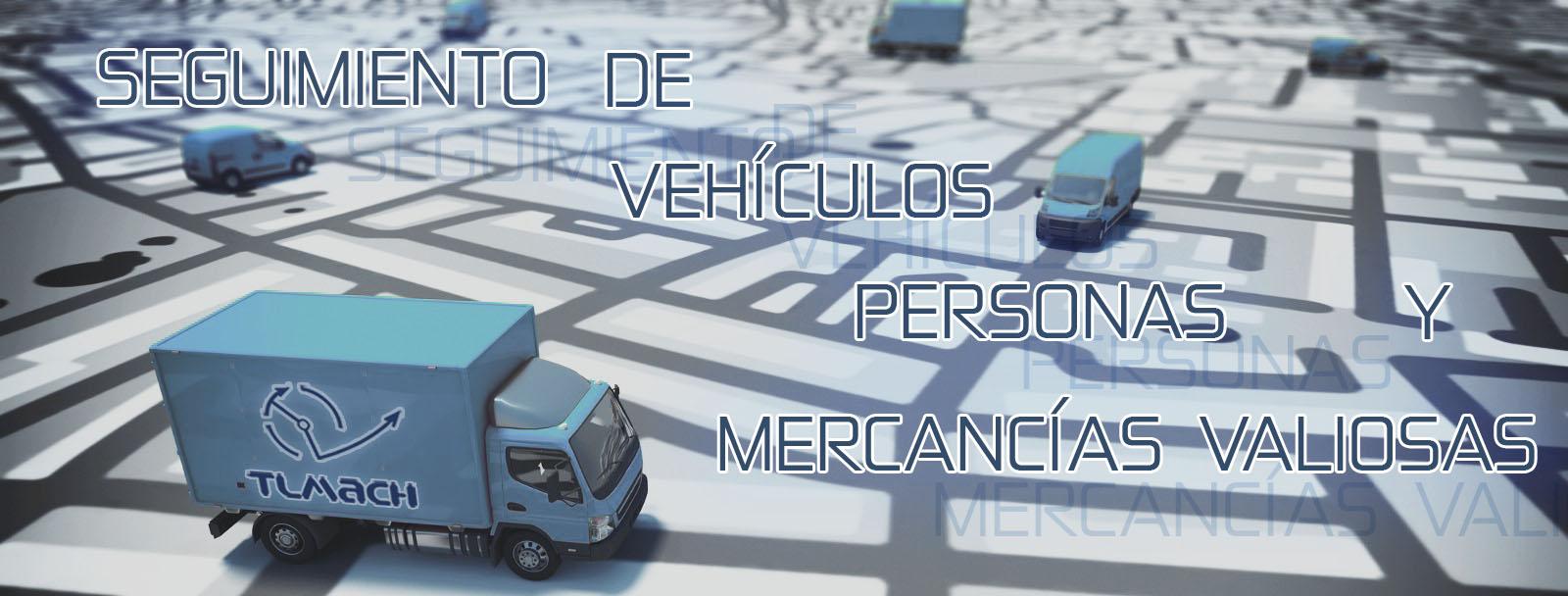 Seguimiento de vehículos. Localización GPS