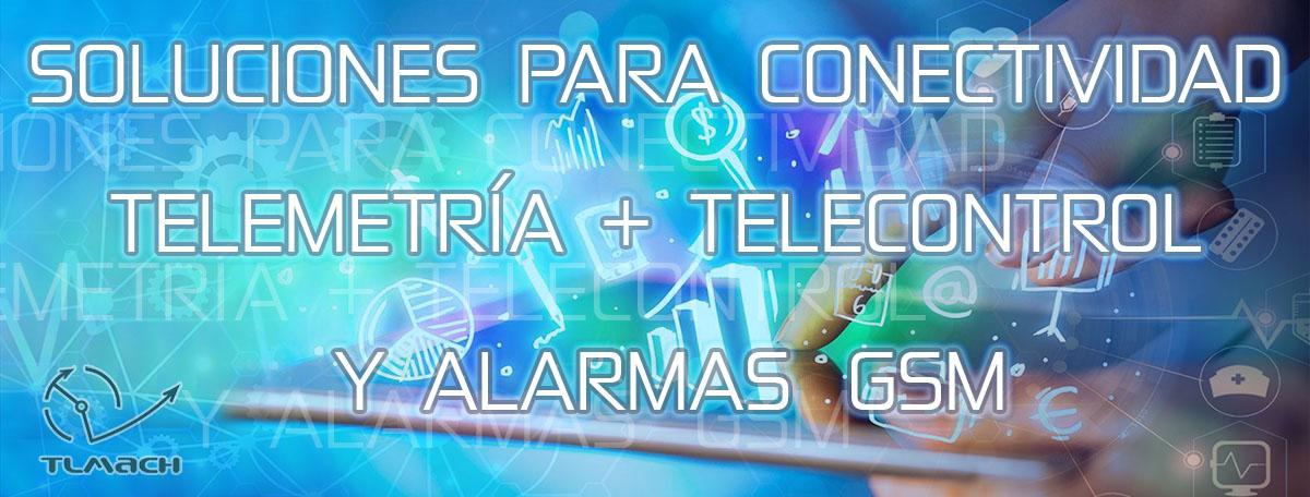 Soluciones para conectividad, telemetría y telecontrol