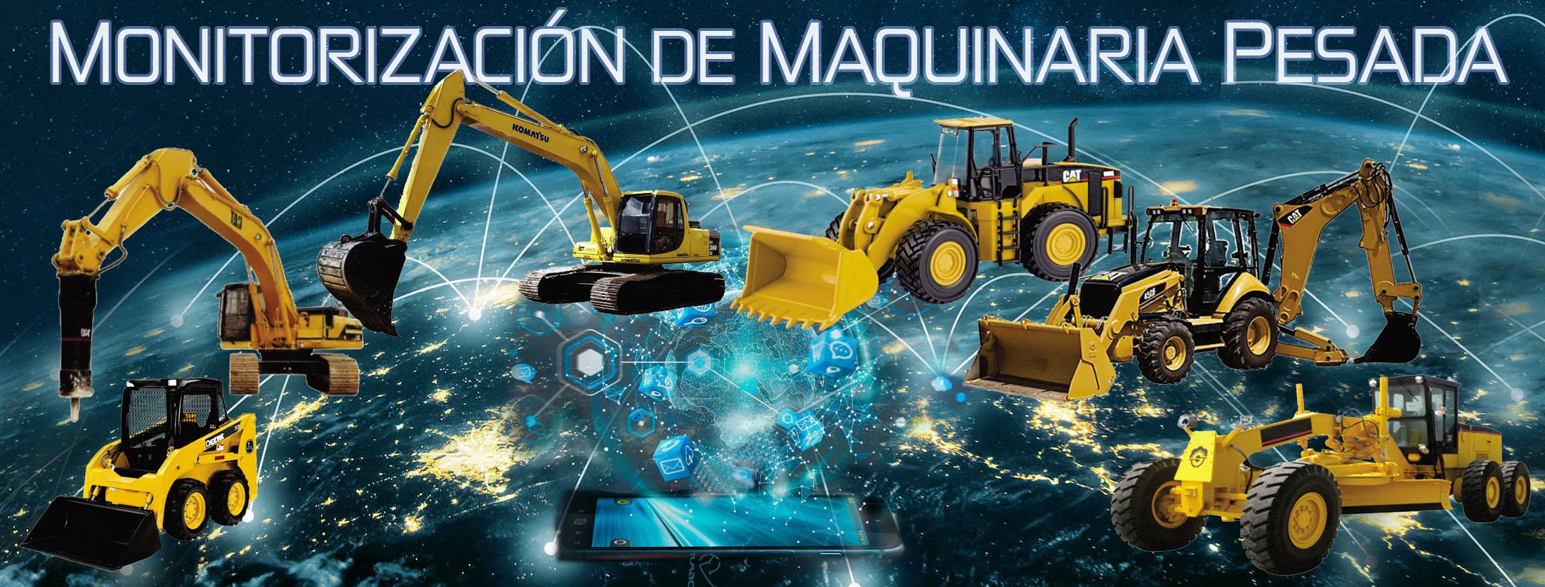 Soluciones para la monitorización de maquinaria pesada
